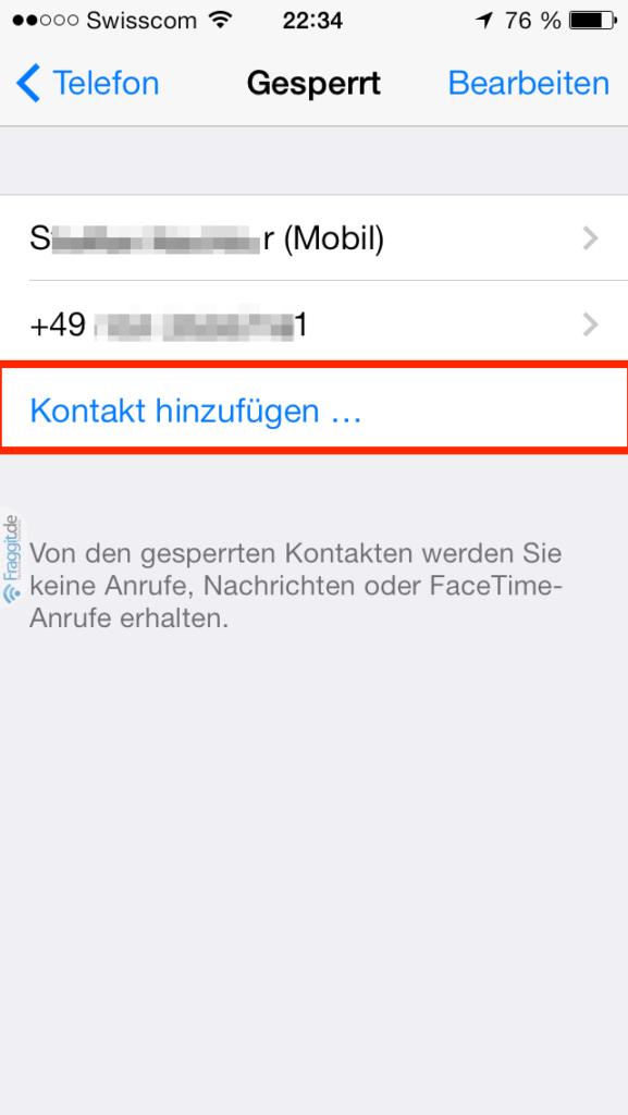 iOS-7-Kontakte-blockieren-iPhone-Gesperrt